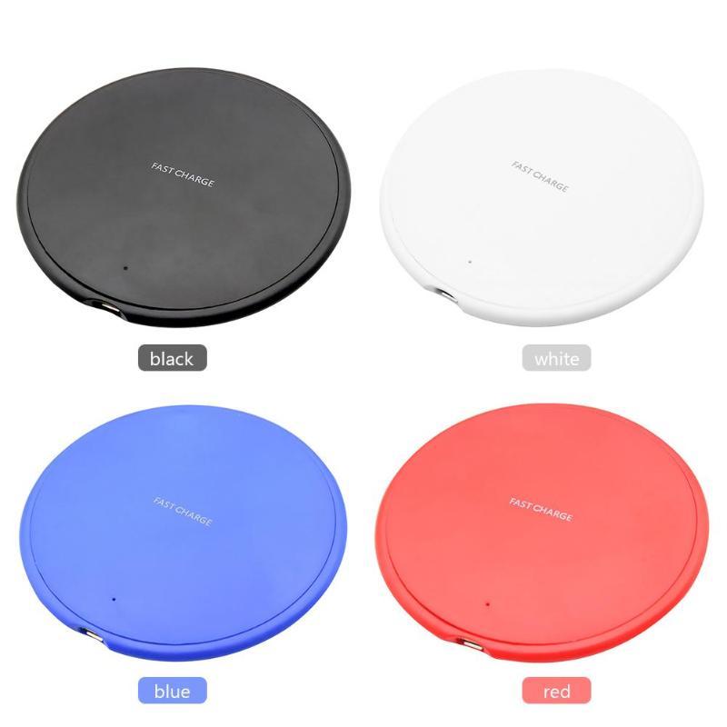 10W Qi Беспроводное быстрое зарядное устройство для samsung S9 S10 iPhone X XS Max XR huawei P30 Pro для iPhone X/XS/Xs Max 7,5 W зарядка