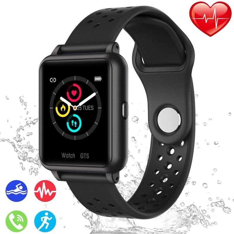 Фитнес-часы для занятий спортом, фитнес-трекер, фитнес-часы с сердечным ритмом, Смарт-часы для Android IOS Phone, IP67, водонепроницаемые