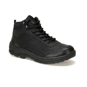 FLO EU-07 czarne męskie buty Panama Club tanie i dobre opinie Buty motocyklowe Na płótnie ANKLE