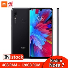 Global ROM Xiaomi Redmi Note 7 4GB 128GB Smartphone Snapdragon 660 Octa Core 48MP Dual Camera 6.3 Screen 4000mAh Mobile Phone