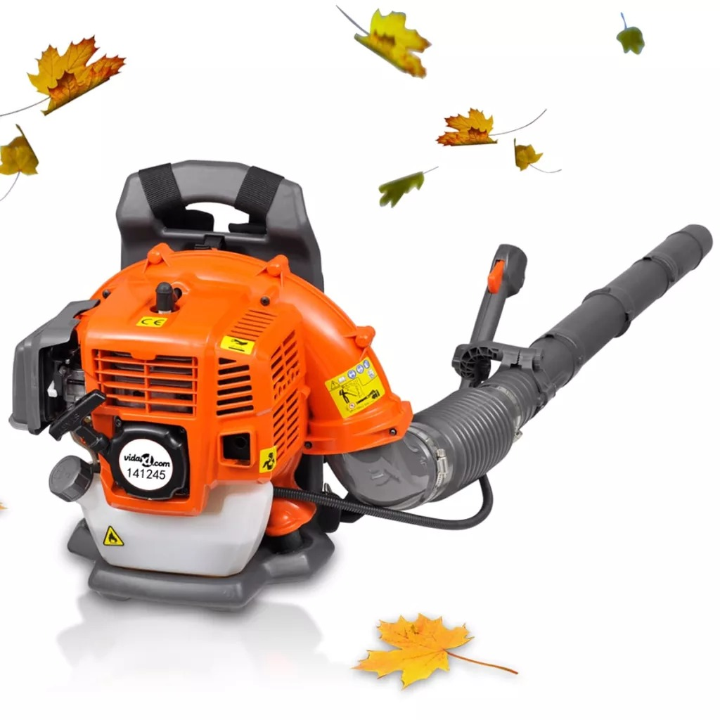 Petrol Backpack Leaf Blower 900 M³/H Removing Fallen Leaves For Driveways, Gardens