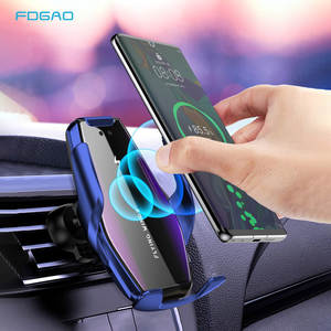 FDGAO Wireless-Charger Automatic-Clamping Phone-Holder Note Samsung S10 Qi Car for 11