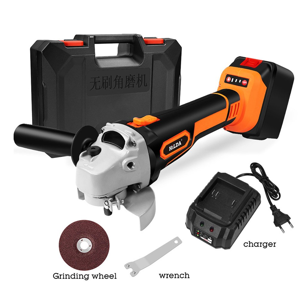 Cordless Brushless Electric Angle Grinder Polishing Grinding Cutting Machine For Milling Cutting Engraving Woodworking