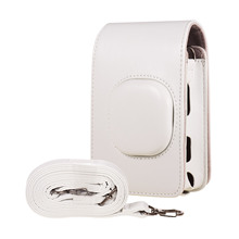 Taşınabilir anlık kamera çantaları Film fotoğraf kamerası PU kapak omuzdan askili çanta Fujifilm Fuji Instax mini LiPlay kamera aksesuarları