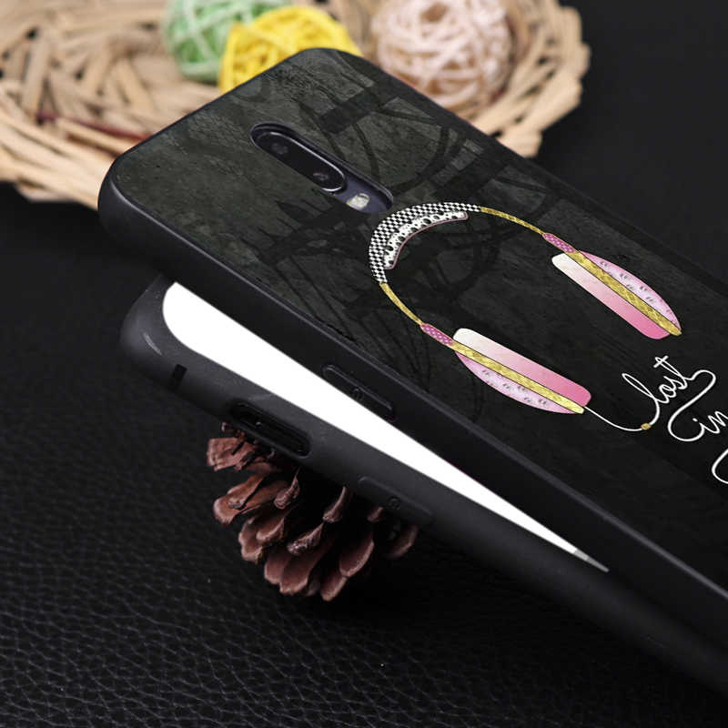 Hermosa funda de teléfono de silicona suave bonita para oneplus one plus 7 pro 7 6 6t 5t