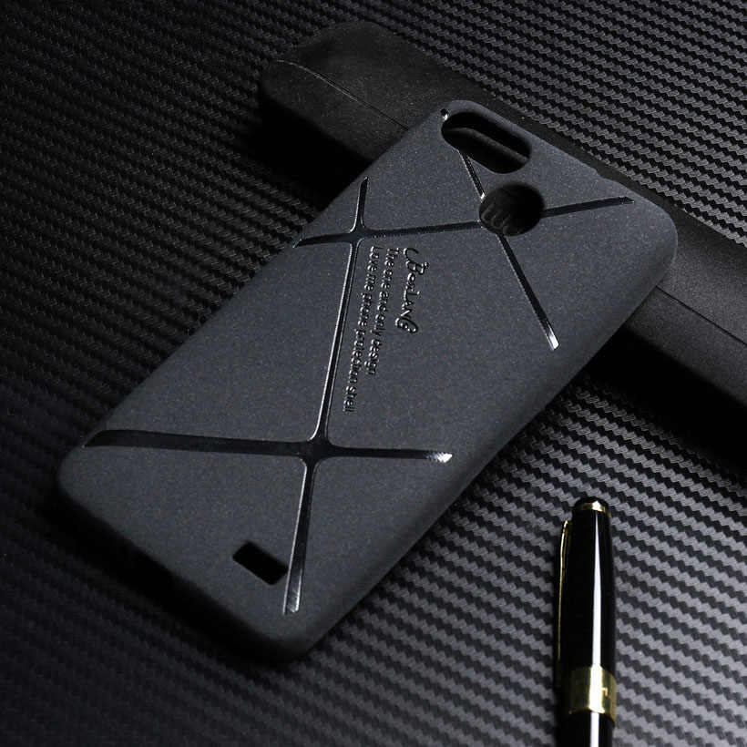 Soft Matte Hitam Case untuk Blackview A7 A7 Pro Case 5.0 Inch Luxury Silicone TPU Cover Bumper Fundas Capa
