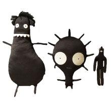 Doll-Toys Figure Skull Gift Plushie-Doll Stuffed-Horror-Anime Halloween Black Kids Children