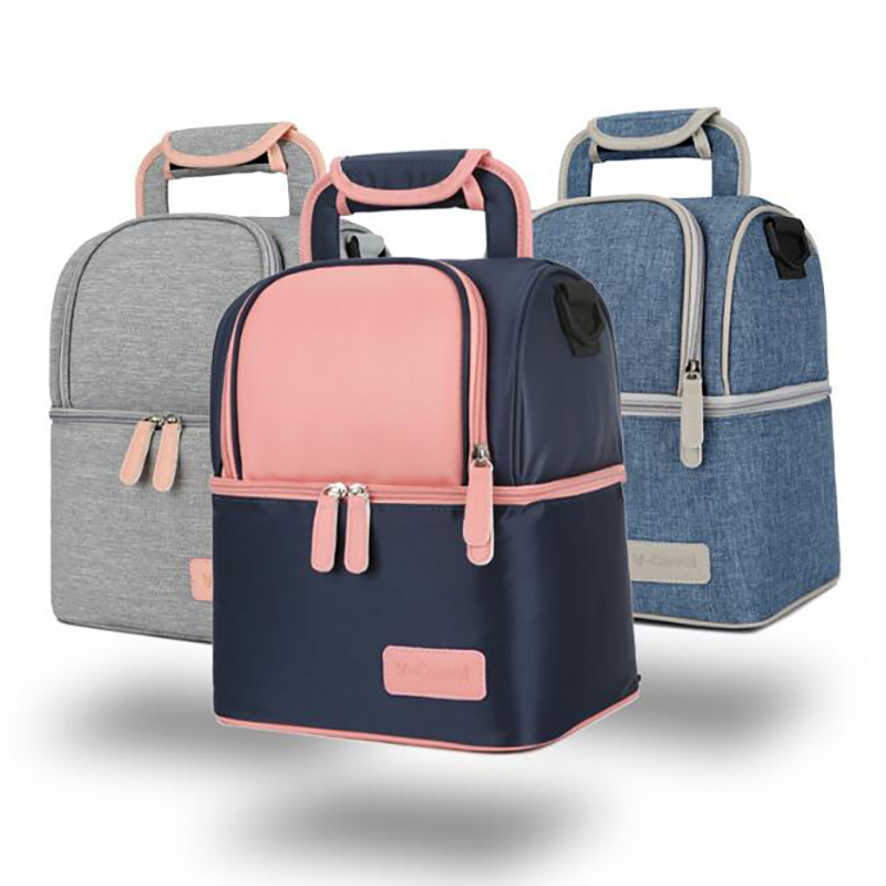 Mummy Backpack Breast Milk Cooler Bag  Insulation Bag  Storage Bags Kids Picnic Baby Breast Milk Thermal Bag  BNA001
