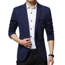 70% Dropshipping!! Coat Solid Color Cardigan Casual Turn-down Collar Man Fomal Suit Jacket for Meeting