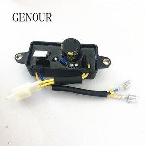 Image 2 - 원래 Lihua AVR 자동 전압 조정기 정류기 220 미크로포맷 중국 가솔린 발전기 1 3KW 단상 6 전선 TT08 4C