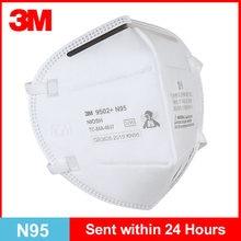 N95 máscara 3m 9502 + kn95 máscaras faciais reutilizáveis respirador pm2.5 filtro cabeça segurança respirar boca máscara original 3m em estoque