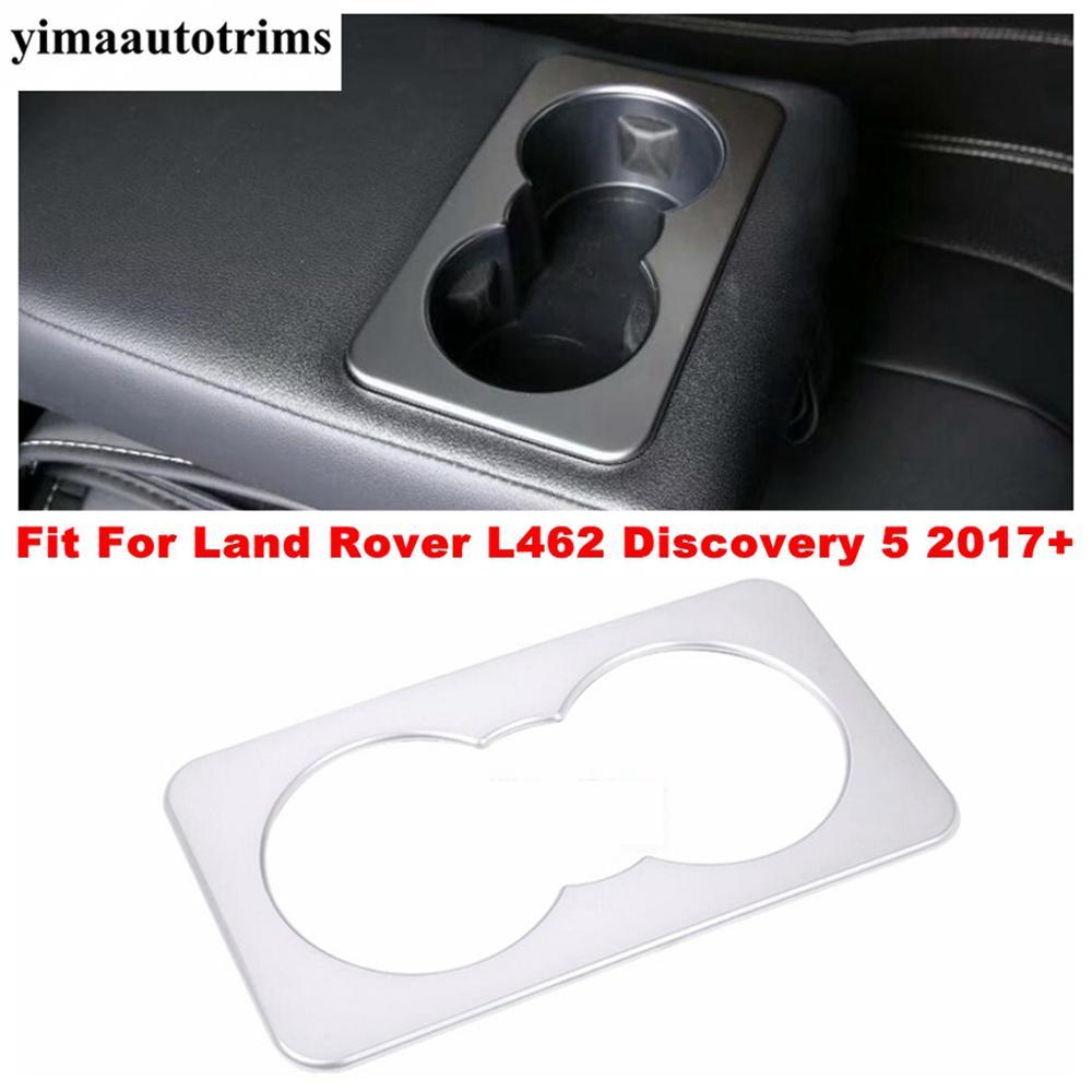 Купить рамка держателя стакана воды заднего сиденья накладка для land