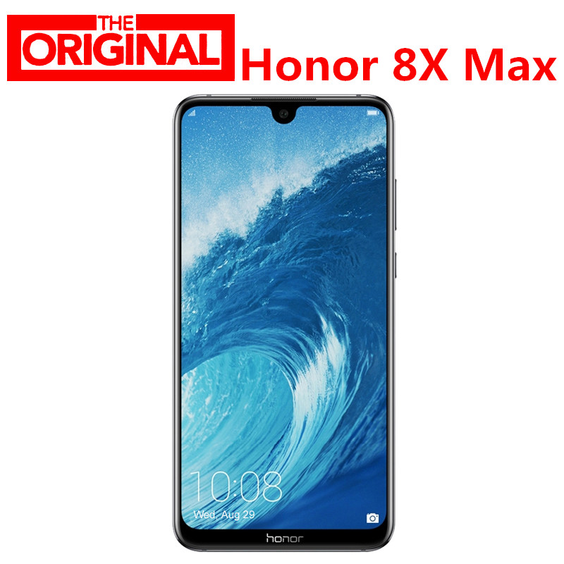 На складе! huawei Honor 8X Max 7,12 дюймов мобильный телефон 4G LTE 7,12