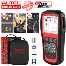 Autel AL619 OBD2 אוטומטי סורק אבחון כלי OBD 2 רכב אבחון סורק Eobd Automotivo 10kit מפעל רכב Scanne