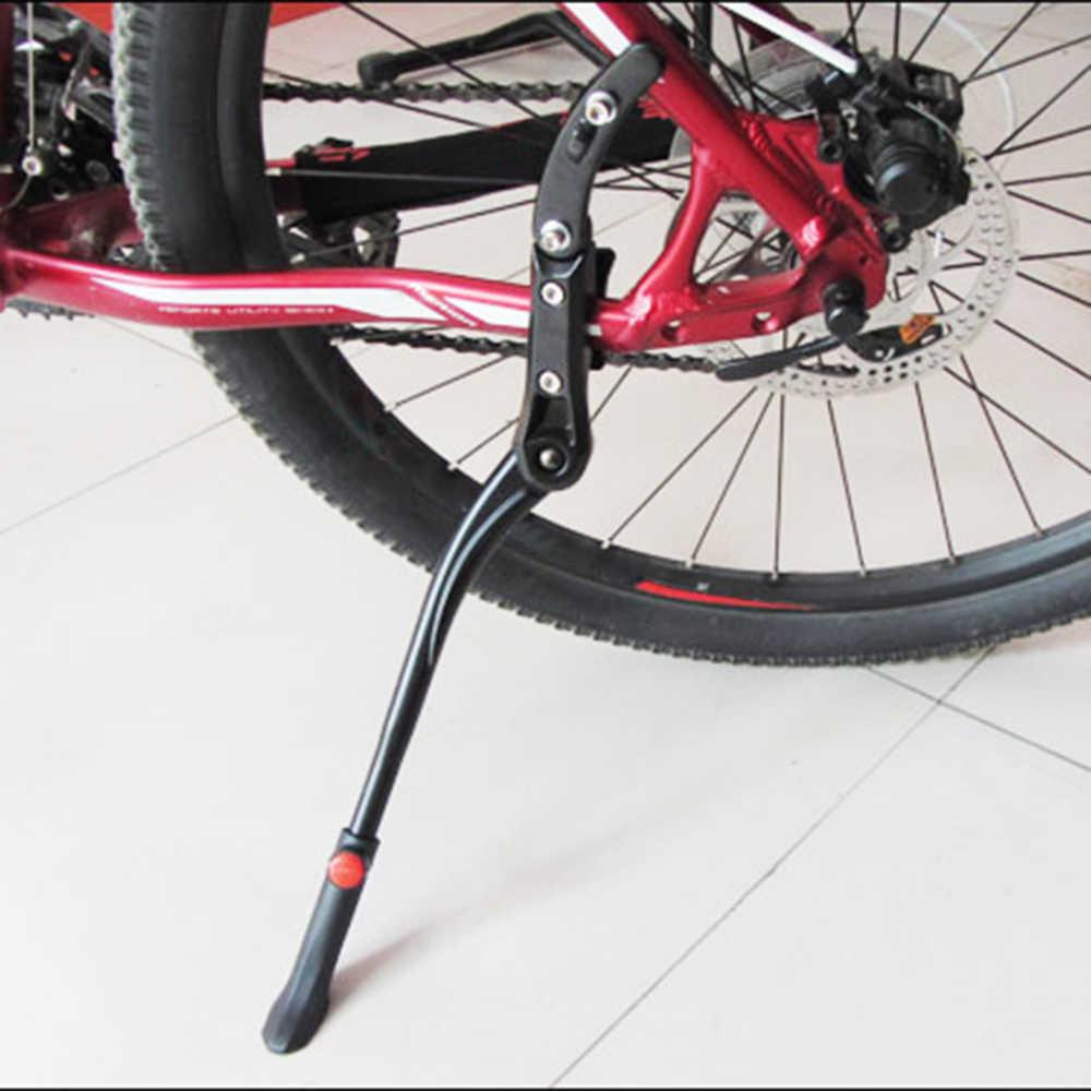 1pc Adjustable Black Aluminum Alloy Bike Sides Reak Bike Stand Heavy Duty/%