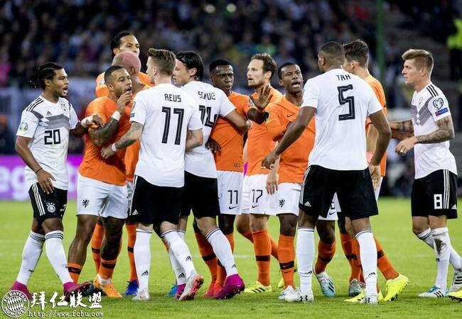 欧预赛 德国2:4荷兰 德后防不稳主场大败1
