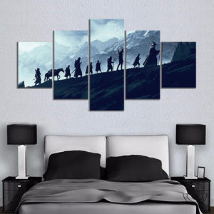 Decorative Paintings Movie Poster Lord Science Wall-Picture Fiction Artwork Living-Room-Decor