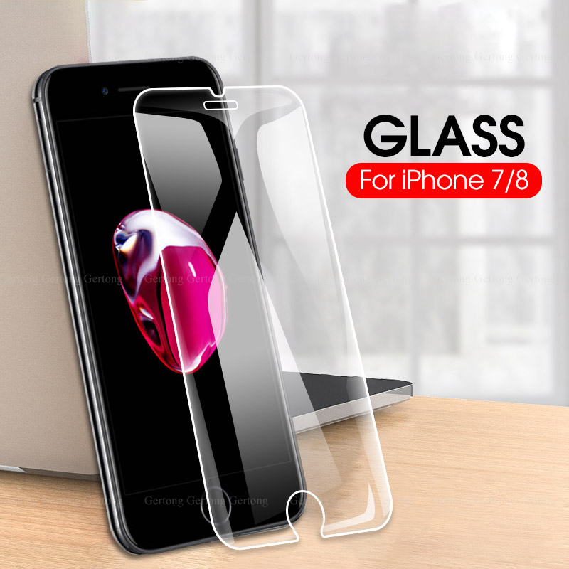 Premium Clear Screen Protector Glass film For iPhone 11 pro max 7 8 6 6s Plus 2