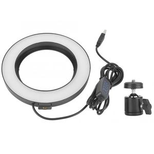6 inch Photography Dimmable LED Ring Light Photo Studio Camera Video Light Ring Photo Selfie Video Fill Light