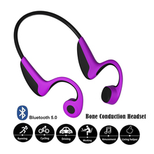 Wireless Headphones Bone Conduction Bluetooth BT 5.0 Earphone Binaural Stereo Noise Reduction HD Sound Quality Earphone e9 newest wireless bone conduction headphones bluetooth 5 0 binaural stereo bone headset waterproof sports bluetooth earphone