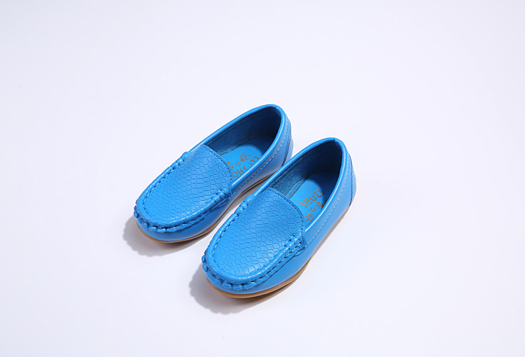Hcd7719dc834d4044929b565ac5876685A - SKOEX Boys Girls Shoes Slip-on Loafers Oxford PU Leather Flats Soft Kids Baby First Walkers Mocassins Children Toddler Sneakers