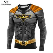 VIP FASHION DC Batman 3D Printed Women Men Supermen Gym Compression Sport Raglan Sleeve Super Hero Cosplay  Long Sleeve Top прочие услуги консультация пакет i super vip