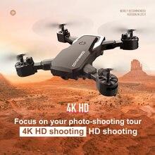 Rc drone quadrocopter com câmera 4k de alta definição fotografia aérea de longa duração bateria de controle remoto avião veículo brinquedo