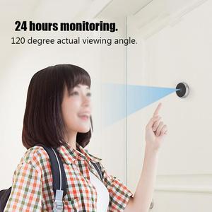 Image 4 - 3.5 inç Video peephole dijital kapı kamera kapı zili 120 derece açı Peephole görüntüleyici video göz kapı kapı zili açık kapı zili