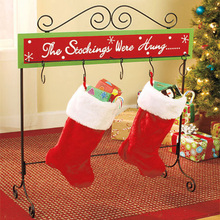 Christmas Stocking Durable Lightweight Cute Delicate Chic Gift Bag Sock for Toy Candy Cookie