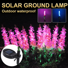Wedding-Christmas-Lights Jellyfish Flowers Lawn-Path Yard Led-Lawn-Solar-Lamps Wheat-Ear