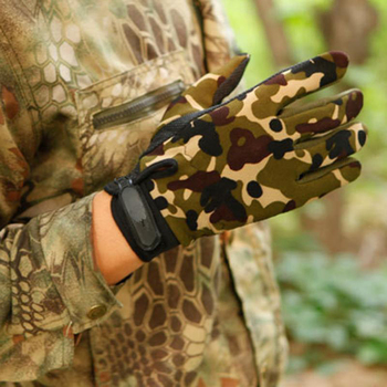 Summer Man Gloves Fishing Tactical Breathable Outdoor Riding Gloves Lady Bicycle Non-slip Gloves Full Finger and Fingless 3
