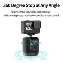 360 תואר סיבוב חכם AI אוטומטי מעקב מצלמה מרחוק בקרת טלפון Selfie מקל הר מחזיק עבור ירי Vlog לחיות זרם