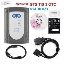 V14.30.023 otc tis3 reprogramação flash para carros de toyota scanner otc3 mais função de diagnóstico software de atualização livre em linha otc3