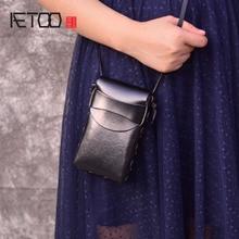 купить AETOO mini shoulder bag for women phone bags small cute crossbody bags for girls handbag female fashion ladies messenger bag по цене 1418.56 рублей