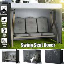 Cubierta de muebles de mesa, hamaca columpio impermeable, Protector UV a prueba de polvo, Patio exterior, jardín, lluvia, nieve, silla, fundas de sofá