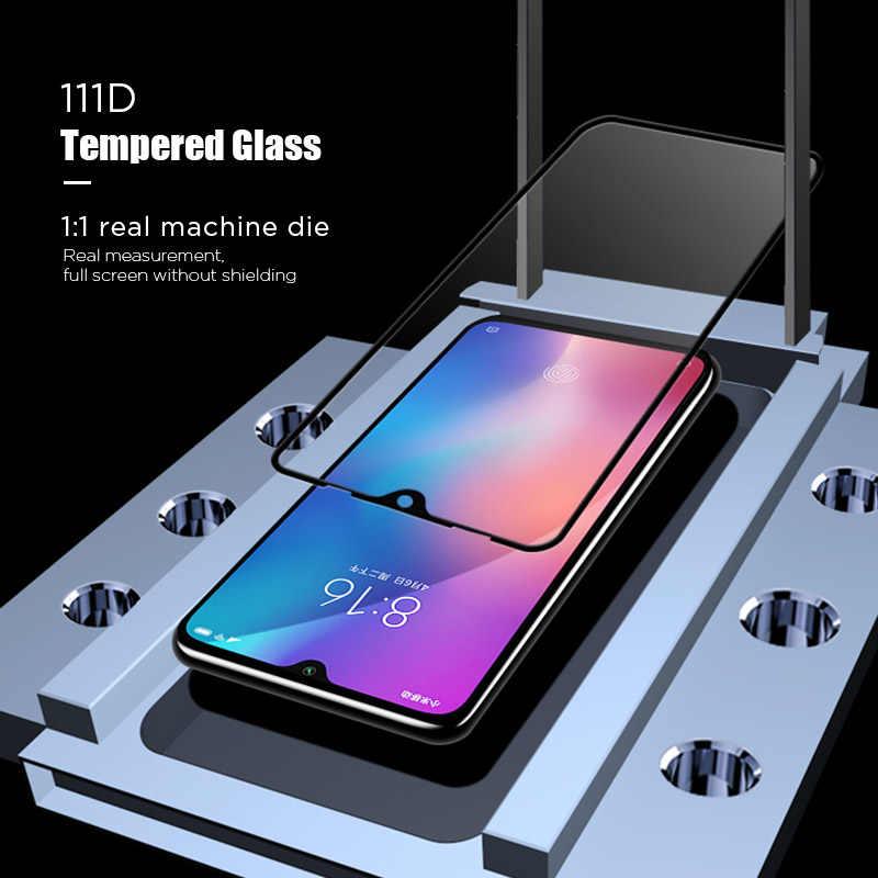 111D Schutz Glas für Xiao mi A3 A2 A1 Pocophone F1 Sicherheit Film Gehärtetem Glas für Xiao mi mi 9 SE Pro 8 Lite CC9 CC9e