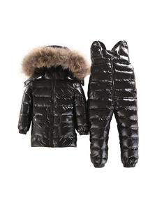 Winter Jacket Parka Snow-Set Infant Girls Baby-Boy Boys Children Ski-Wear Warm And Down