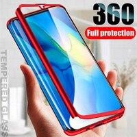 Funda protectora de cuerpo completo para Samsung Galaxy S20 Ultra S10 Lite S10E S9 S8 PIus A20E A21S A31 A30S A51 A71, 360