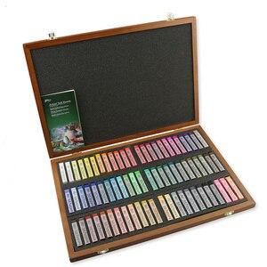 Набор мелки для рисования, 12/72 цветов, тонер-карандаш для рисования, портативный Гладкий краситель для волос, мягкий пастельный набор, серая ...