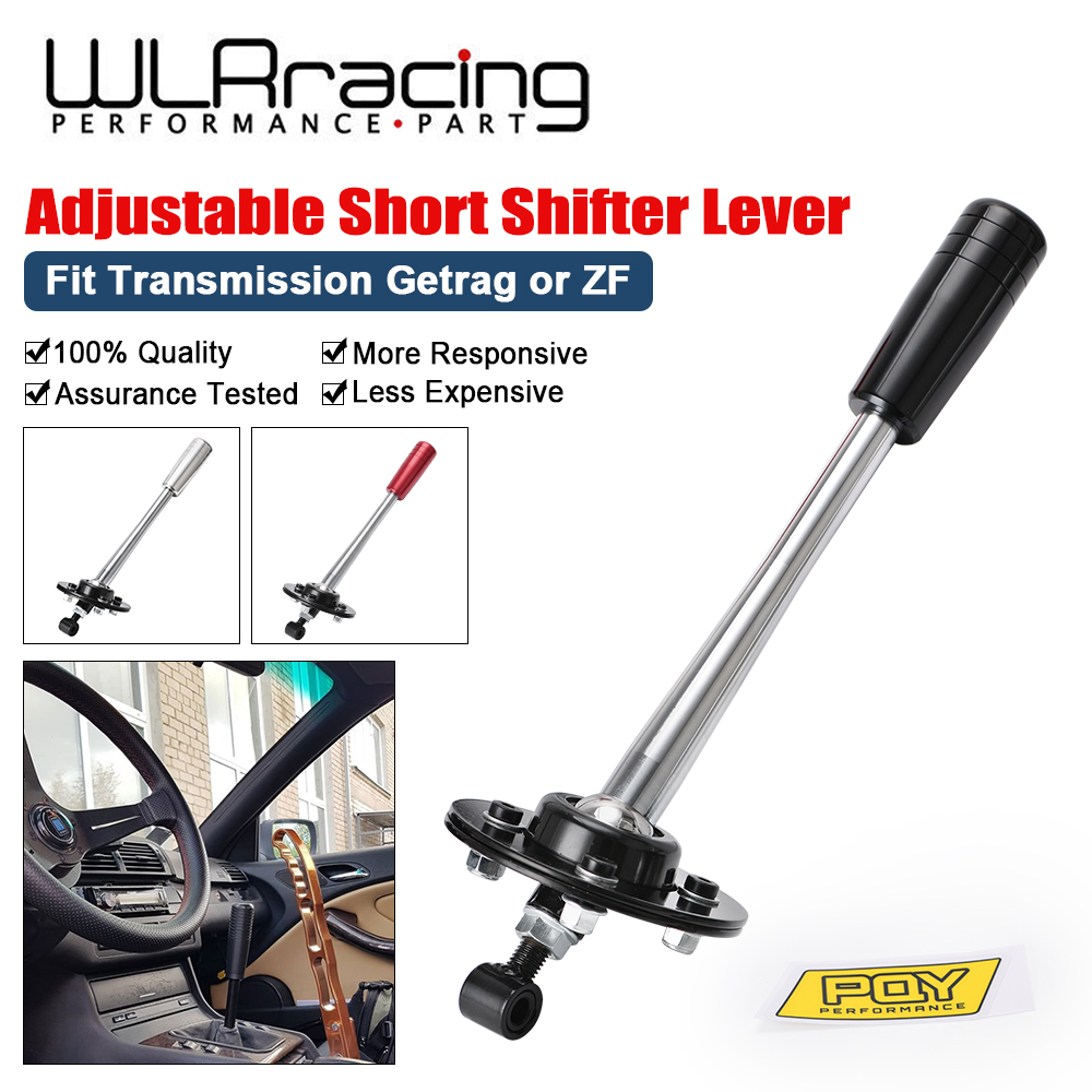 Wl-drift Tuning palanca de cambio corta ajustable con Kit de perillas para 85-10 BMW E30 E36 E46 E34 E39 E6x Z3 WLR-PDG03