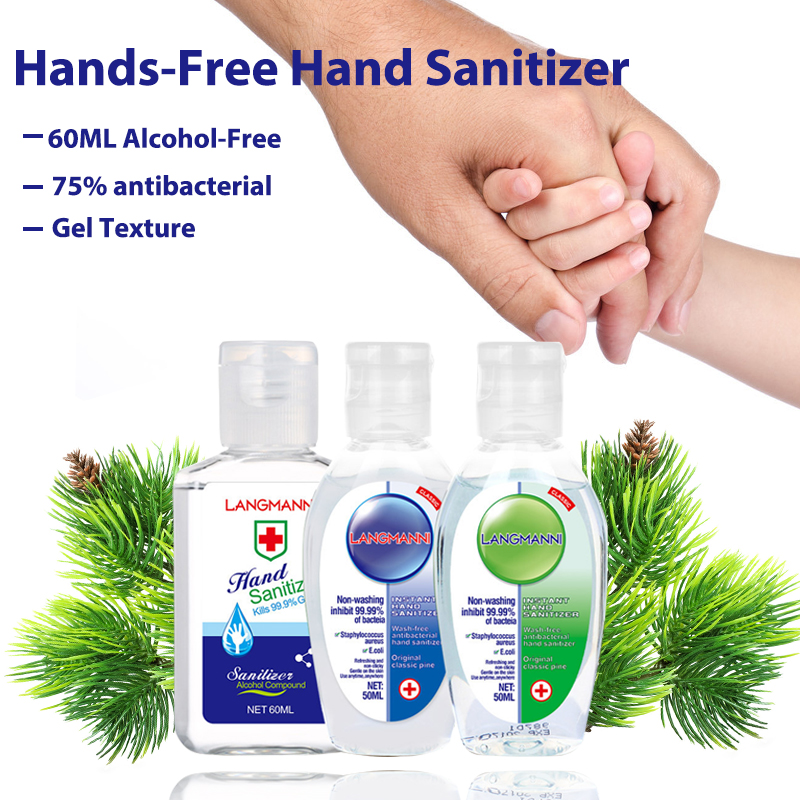 Travel Antibacterial Hand Sanitizer Clear Mild Handwash-free Quick-drying Moisturizing Hand Skin Portable Hand Sanitizer Gel