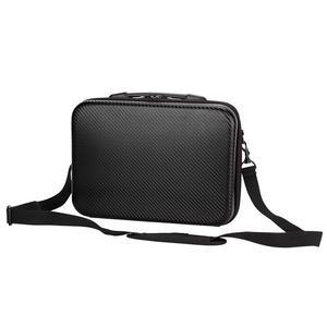 Image 2 - Hot 3C Storage Bag for DJI Mavic 2 Pro Zoom Drone Carrying Case PU Shoulder Bag for Handbag Protective Bag Backpack Drone Box Pa