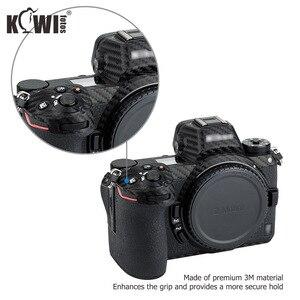 Image 3 - KIWIFOTOS נגד שריטות מצלמה גוף כיסוי סיבי פחמן סרט ערכת עבור ניקון Z7 Z6 3M מדבקה עם חילוף סרט מצלמות הגנה