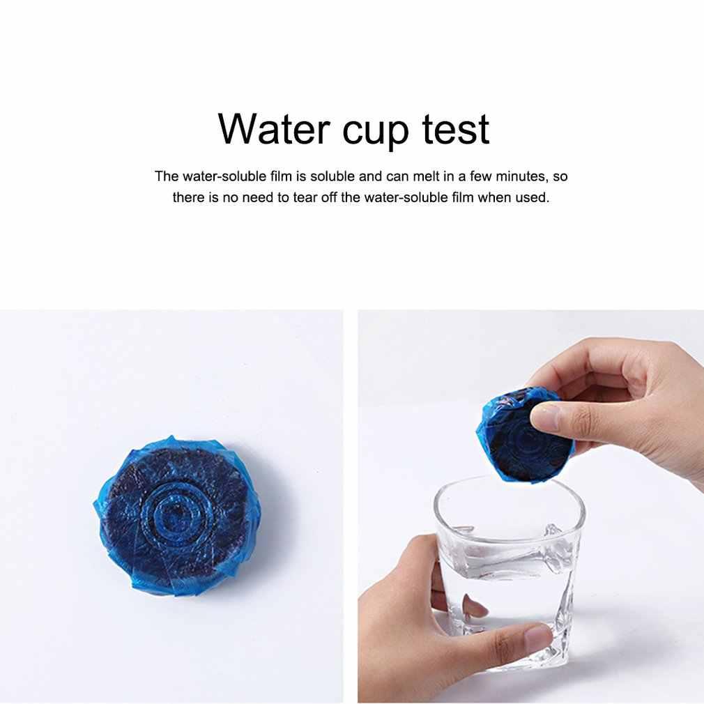 Wygodne praktyczne wc automatyczne sterylizacji dezodorant zbiornik na wodę niebieski bańka toaletowa do mycia Jiece środek Bowl Cleaner