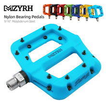 Bicycle Pedals Seal-Bearings Widen Bike MTB MZYRH Ultralight Nylon Area Molybdenum Durable