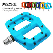 MZYRH-pedales ultraligeros para bicicleta de montaña, rodamientos con sello de nailon, molibdeno, área de extensión duradera