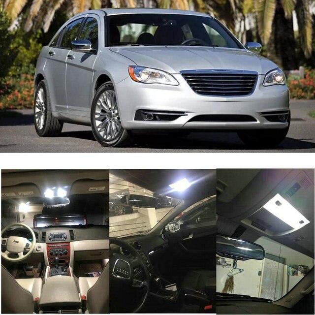 Interior Led lights For 2013 Chrysler 200 300 Town Country Dome Light Map Light Courtesy Door Light 1