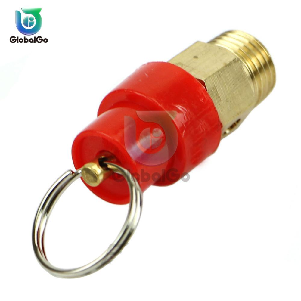 1/4'' Air Compressor Safety Release Relief Valve Connector Air Gas Pressure Relief Regulator 1KG 3KG 4KG 5KG 6KG 7KG 8KG 10KG
