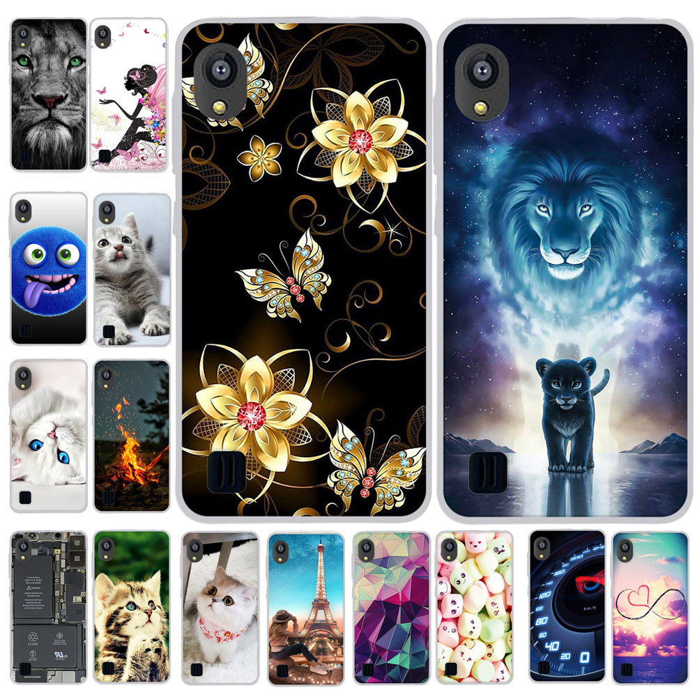 3D Print Cartoon Case For ZTE Blade L8 Soft Silicone Cover Case For ZTE Blade A3 A5 A7 2019 Phone Bumper Protection Case