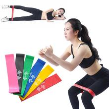 Gym Fitness Equipment Strength Training Latex Elastic Bands Resistance Yoga Rubber Loops Sports